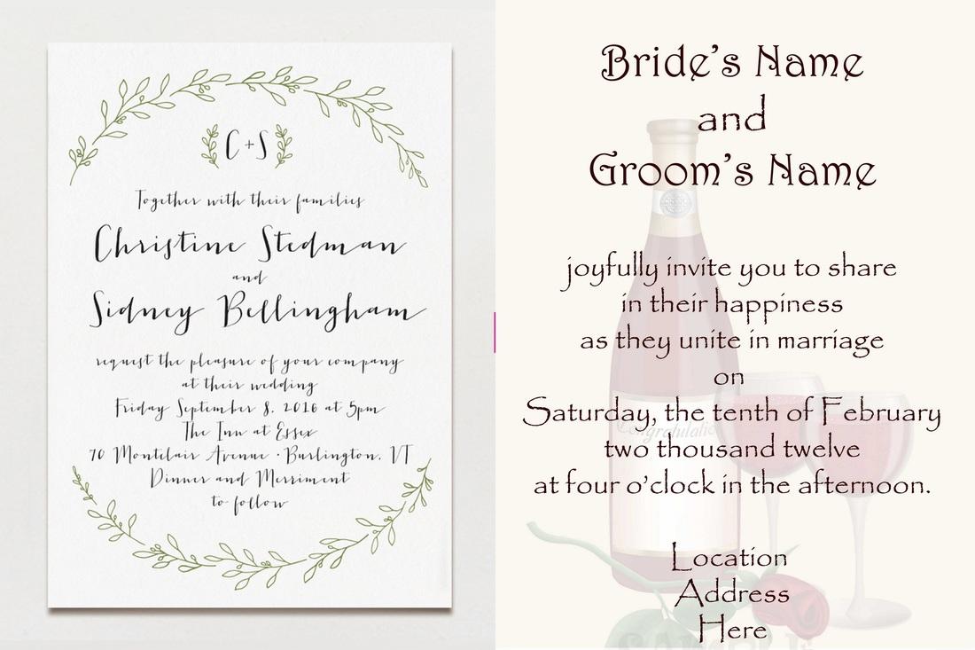 wedding invitations from children - 28 images - nickolas angela s ...